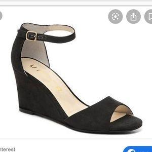 Unisa Yeavett Open Toe Ankle Strap Wedge Sandal